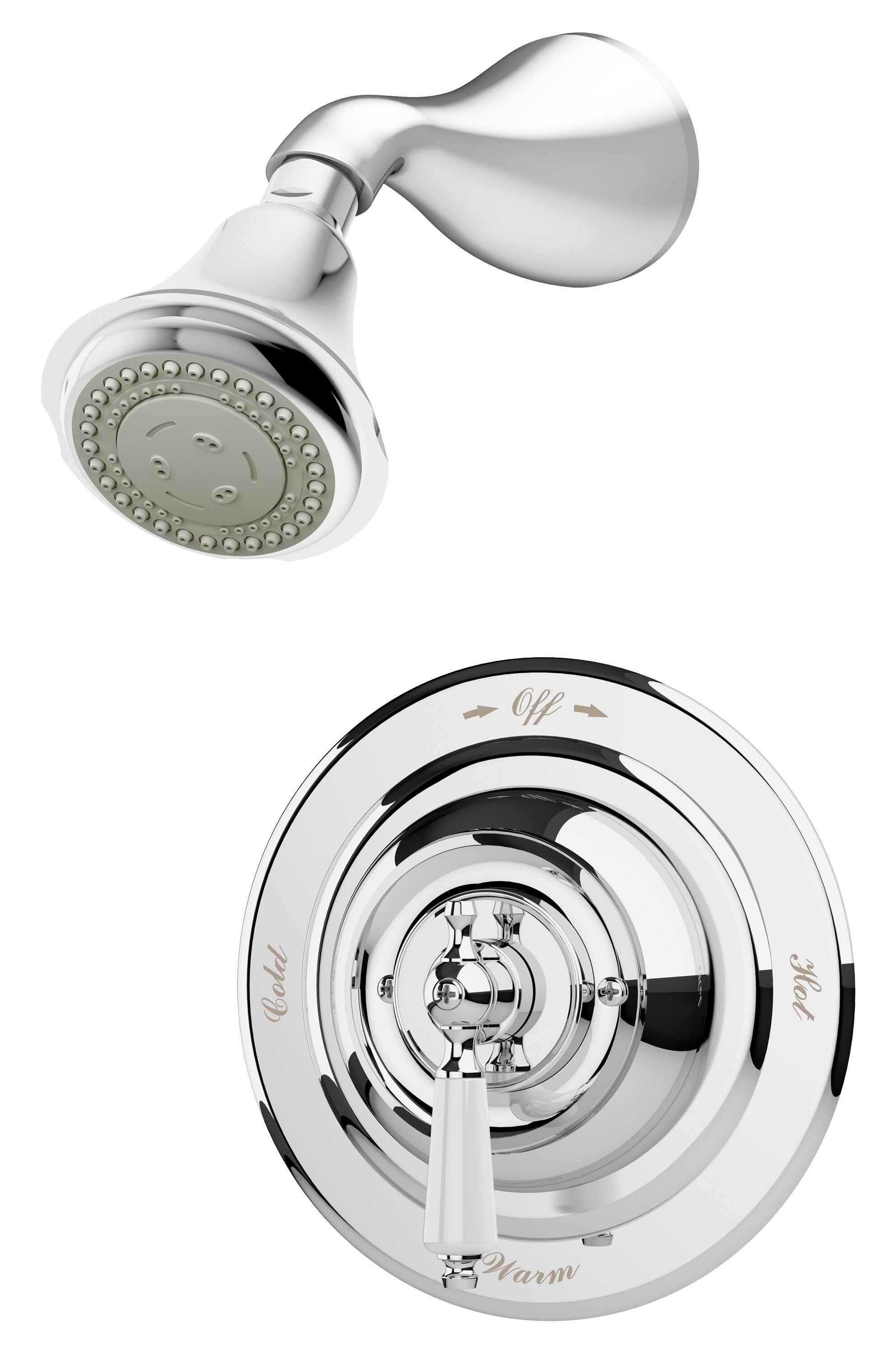 Symmons Carrington Complete Shower System Wayfair