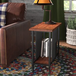 Braunste End Table by Three Posts