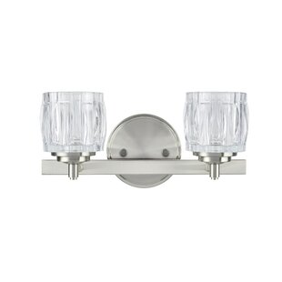 Herve Metal 2-Light Vanity Lig..