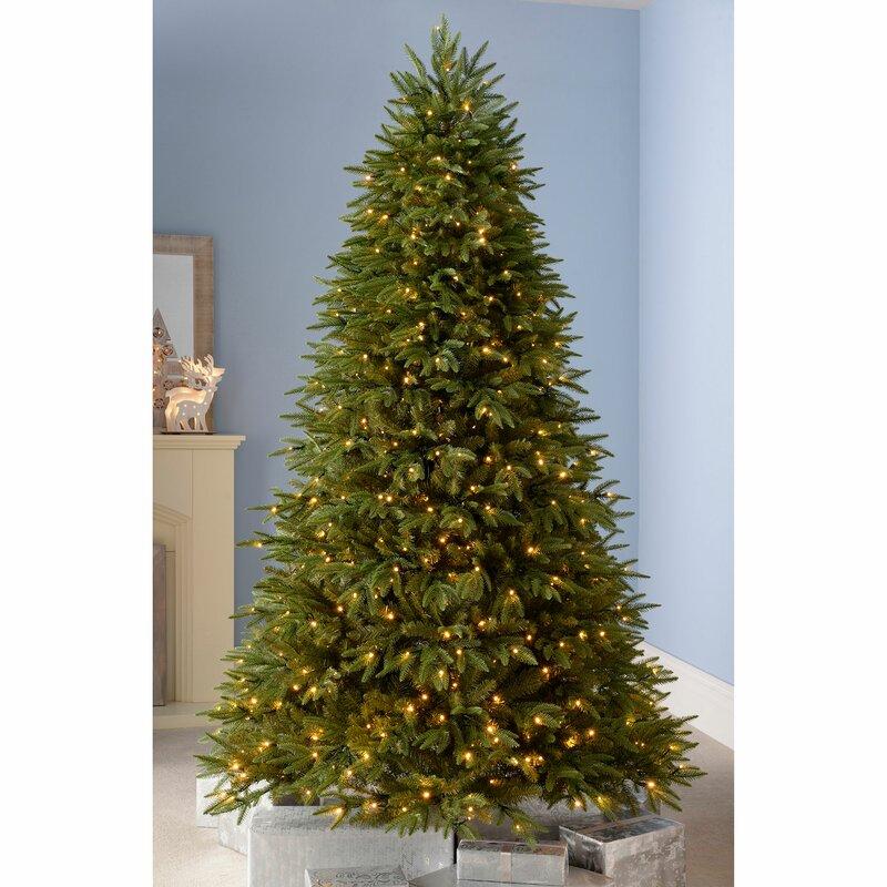 Artificial Christmas Tree Warehouse: The Seasonal Aisle Royal Pre-Lit Multi-Function 8ft Green