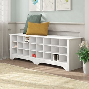 Reviews Ingham Shoe Cubby Storage Bench By Winston Porter