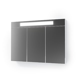 Griselda 90cm X 65cm Mirrored Wall Mounted Cabinet By Metro Lane