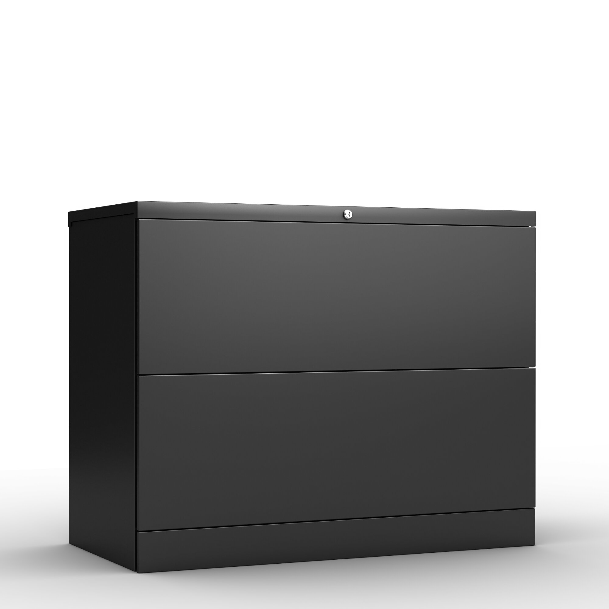 Image of: Inbox Zero Home Office 2 Drawer Lateral Filing Cabinet Wayfair