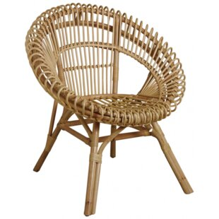 Dresden Natural Tub Chair By Bay Isle Home