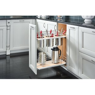 2 Tier Utility Pull Out Pantry