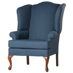 Alanya Wingback Chair by Canora Grey