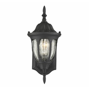 Reviews Morningside 1-Light Outdoor Sconce By Charlton Home