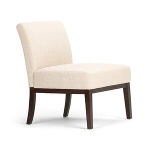 Burnie Slipper Chair by Charlton Home