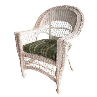 August Grove Camacho Patio Dining Chair w..