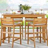 Kamden Wooden Bar Table