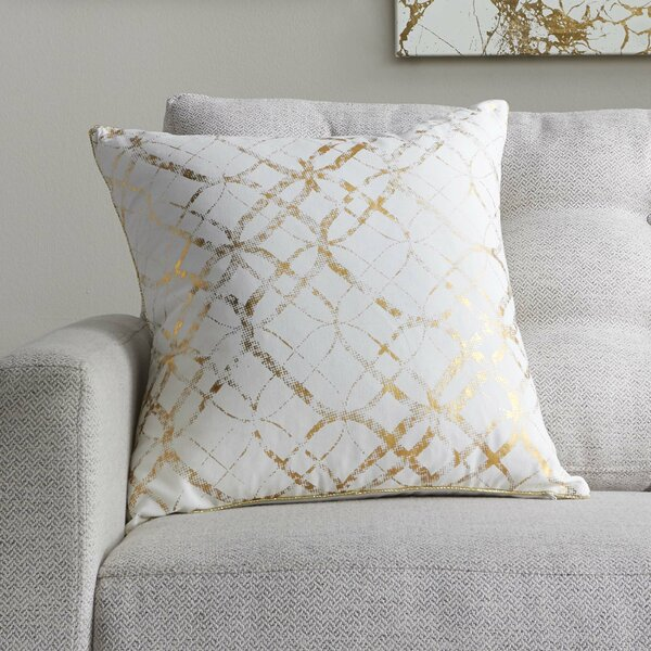 Mercury Row Beshears 100 Percents Cotton Throw Pillow & Reviews by Mercury Row