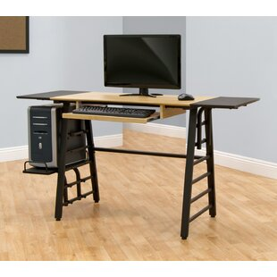 Calico Designs Computer Desk with Keyboard Shelf