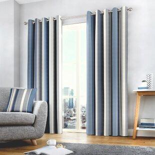 Blue Curtains You Ll Love Wayfair Co Uk