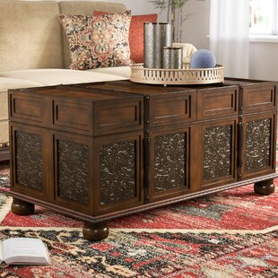 Andalusia Storage Coffee Table Trunk World Menagerie
