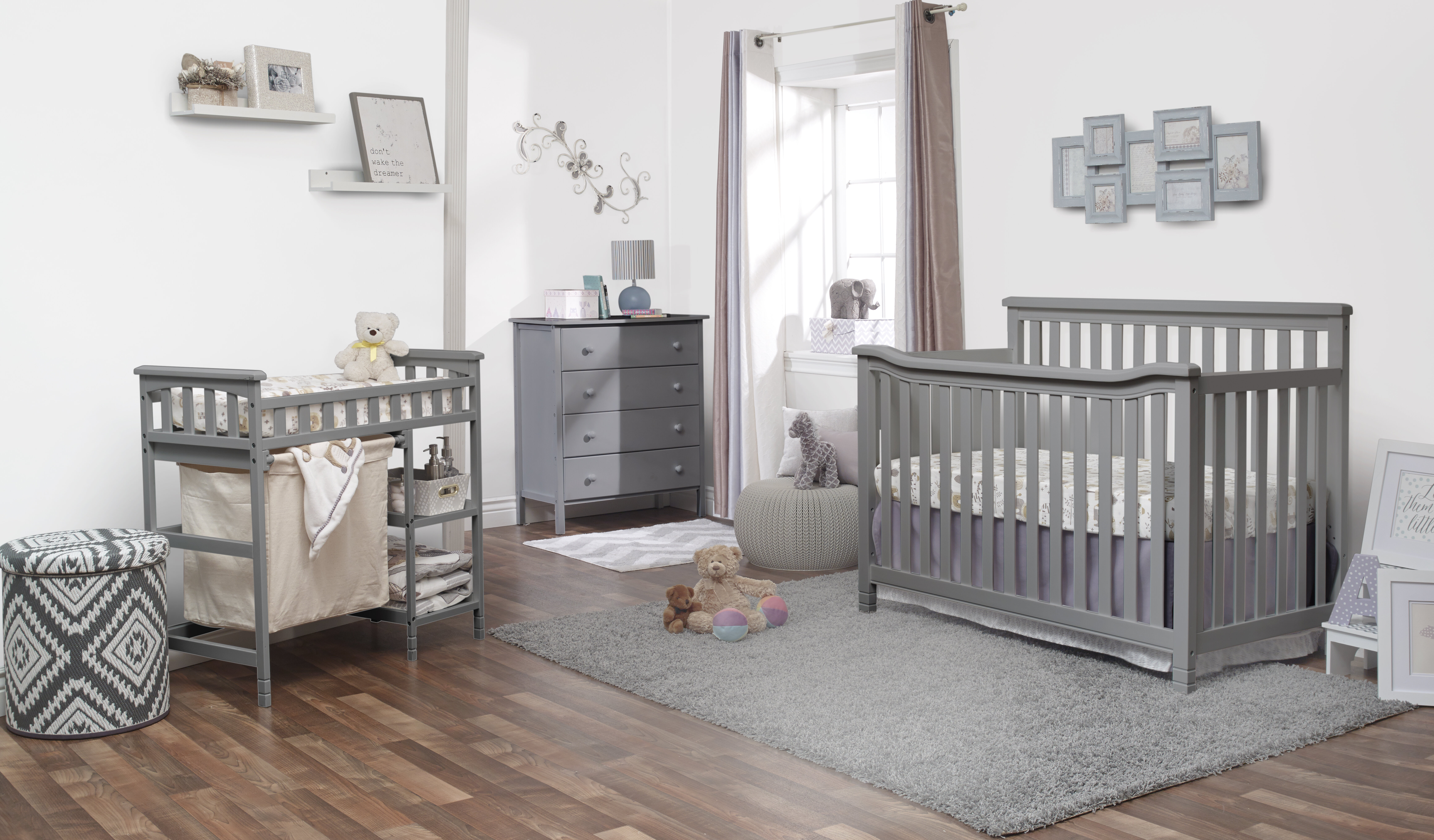 Sorelle Palisades Room in a Box Combo 3-Piece Nursery Furniture