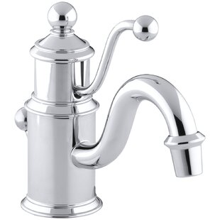 Kohler Antique Single hole Bathroom Faucet with Drain Assembly