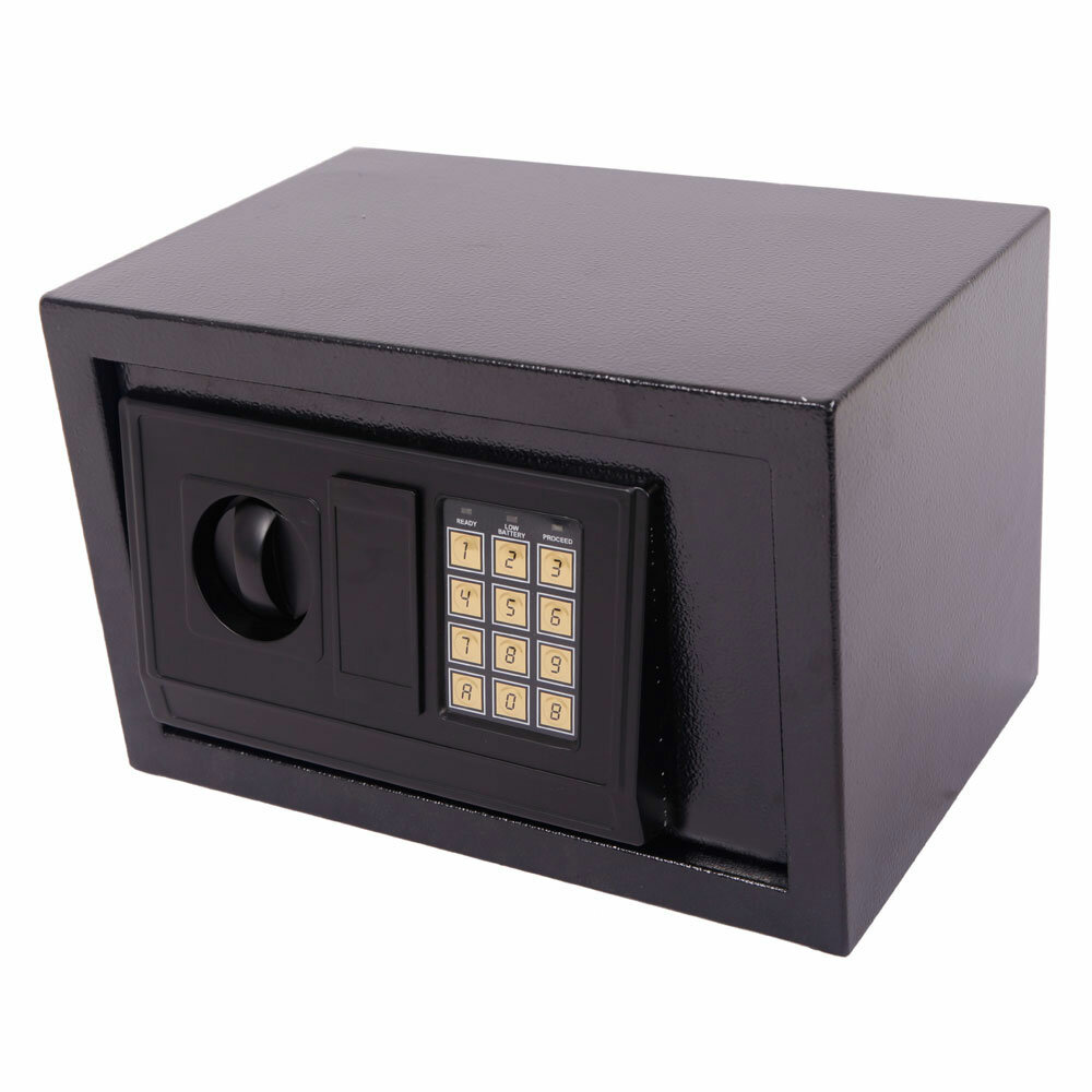 Ubesgoo Digital Steel Safe Box With Dual Lock Wayfair