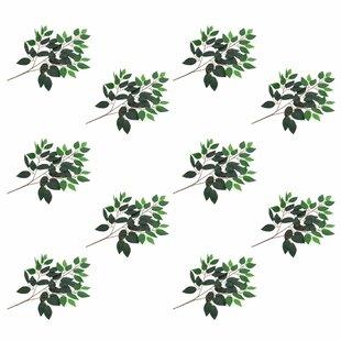 Ficus Leaves (Set Of 10) By The Seasonal Aisle