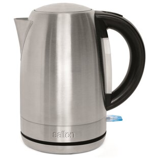 1.7 Qt. Stainless Steel Cordless Electric Tea Kettle