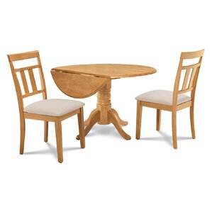 Chesterton 3 Piece Wood Dining Set by Alcott Hill