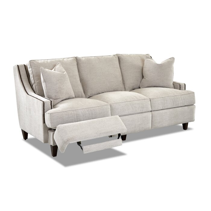 Remarkable Tricia Power Hybrid Reclining Sofa Inzonedesignstudio Interior Chair Design Inzonedesignstudiocom
