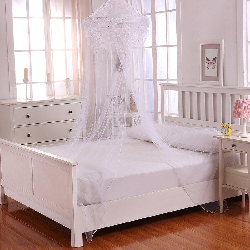 Raisinette Kids Collapsible Hoop Sheer Bed Canopy & Casablanca Kids Raisinette Kids Collapsible Hoop Sheer Bed Canopy ...