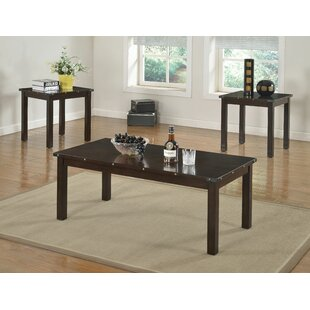17 Stories Wednesday 3 Piece Coffee Table Set