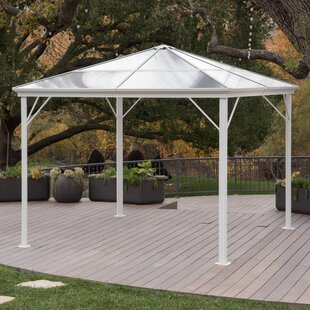 Michael Hardtop 10 Ft. W x 10 Ft. D Aluminum Patio Gazebo by Freeport Park