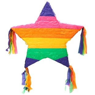 Rainbow Star 16 Pinata Paper Disposable Party Favor
