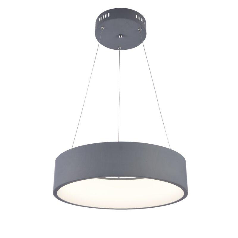 Orren Ellis Bergner  LED  Pendant