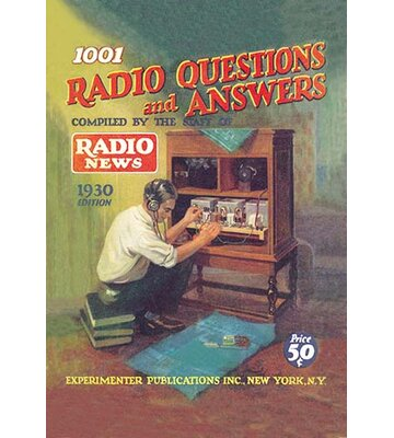 1001 Radio Questions and Answers Vintage Advertisement Buyenlarge