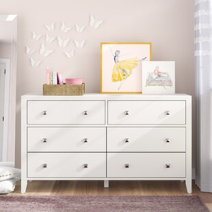 Susan 6 Drawer Double Dresser by Viv + Rae