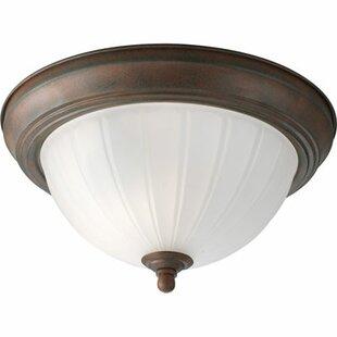 Charlton Home Ozella 1 Light Semi Flush Mount
