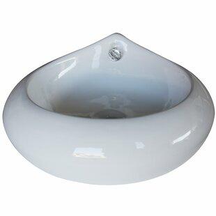 Best Reviews Ceramic Specialty Vessel Bathroom Sink By Arsumo