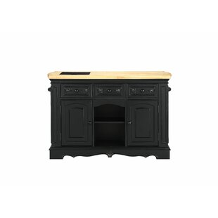 Ribeiro Antique Kitchen Island Canora Grey