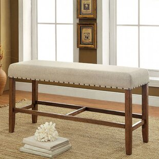 Darby Home Co Adalard Counter Height Wood Dining Bench
