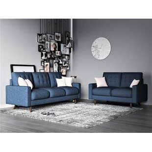 Best Review Ruthann 2 Piece Living Room Set by Gracie Oaks Reviews (2019) & Buyer's Guide