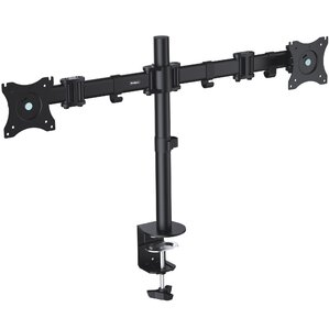 double arm dual monitor desk mount