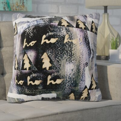 Deckert A White Christmas Square Pillow