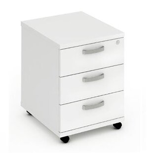 Impulse Mobile Pedestal 3 Drawer Filing Cabinet ...
