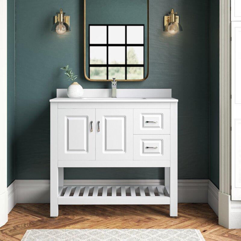 Needville 36 Single Bathroom Vanity Set Reviews Joss Main
