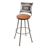 Chidester Swivel Bar & Counter Stool by Fleur De Lis Living