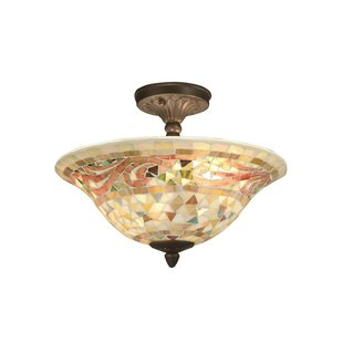 Weeden 3-Light Semi Flush Mount by Astoria Grand