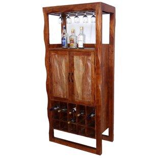 Mccleery Solid Wood Floor Wine Glass Rack..