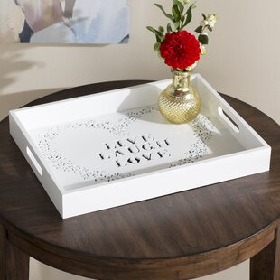 White Decorative Trays You Ll Love In 2019 Wayfair