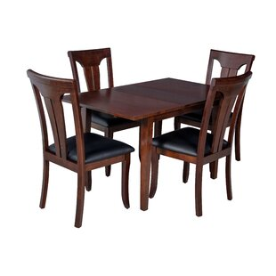 Armstrong 5 Piece Solid Wood Dining Set by TTP Furnish