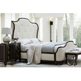 Miramont King Tufted Solid Wood and Upholstered Standard Bed by Bernhardt