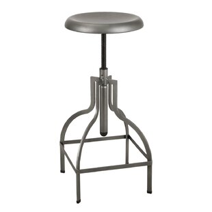 Elizabet Adjustable Height Bar Stool by