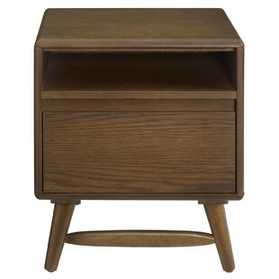 Burruss Wood Nightstand by George Oliver