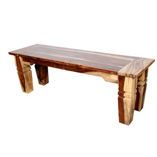 Reaves Wood Bench by Loon Peak